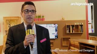 Imm Cologne 2017 | Sixay -  László Szikszai talks about the solid wood products and the Brand