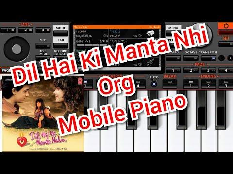 Dil Hai Ke Manta Nahin Mobile Piano