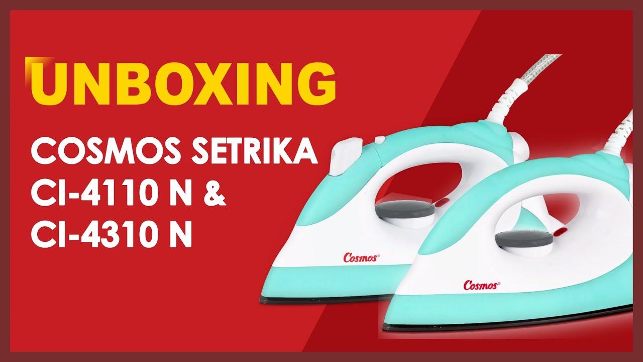 Unboxing Cosmos Setrika CI-4110 N & CI-4310 N
