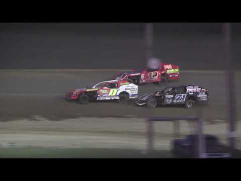 I.M.C.A. Heat Race #2 at Crystal Motor Speedway, Michigan on 08-24-2019!
