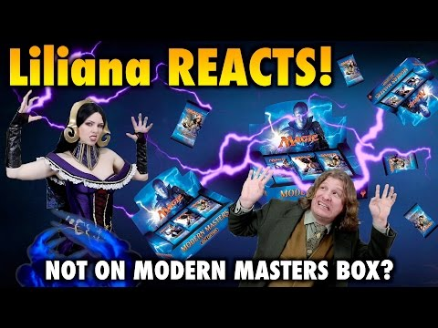 Liliana Reacts! Not on Modern Masters box? (Magic The Gathering MTG MM3 Spoiler / Preview Card)