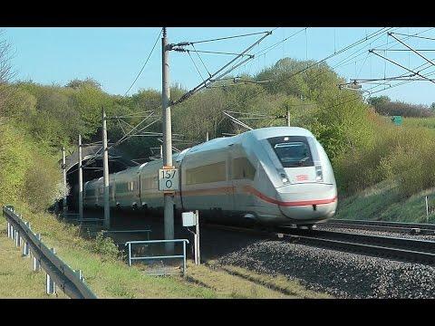 SFS Hannover - Würzburg - Teil 14 - Guxhagen mit ICE 1, ICE 2 und ICE 4 (ICx - BR412)