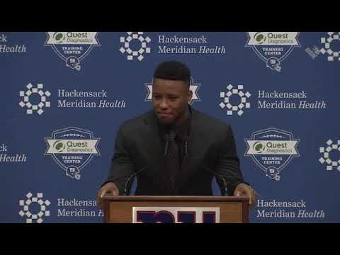 Saquon Barkley Introductory Press Conference