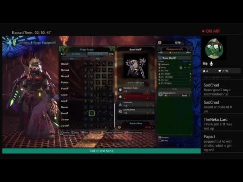 Monster hunter world farming end game