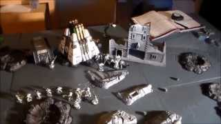 Battlereport 15 (Necrons vs. Chaos Space Marines 1850 P.)