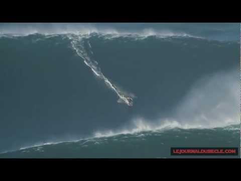 Garret Mcnamara, Big Wave Surfing, 30 meters, January 2013