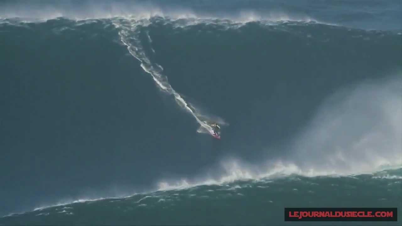 Garret Mcnamara Big Wave Surfing 30 Meters January 2013