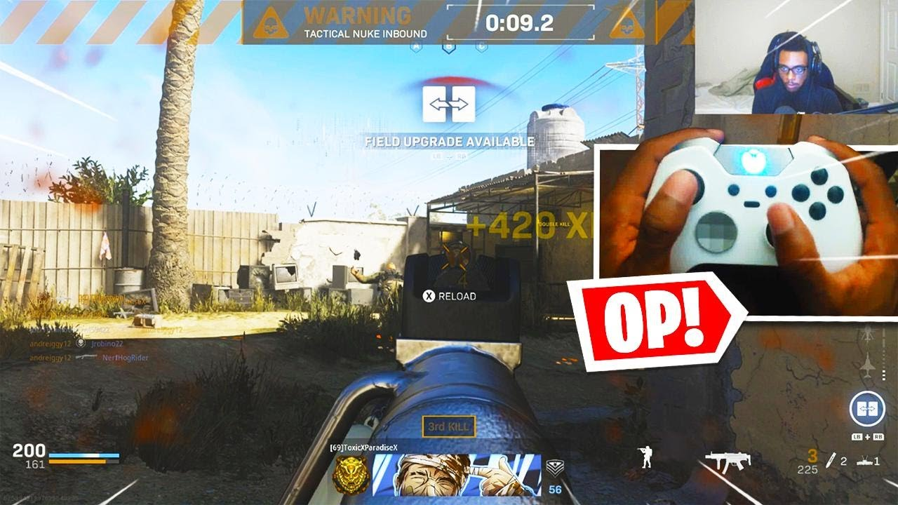 CONTROLLER ON PC IS LIKE CHEATING IN MODERN WARFARE! - Stronger Aim Assist + Best Settings! (COD MW)