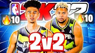 MY BUILD OP! Playing NBA 2K22 Park @ZackTTG  3v3 NEXT GEN