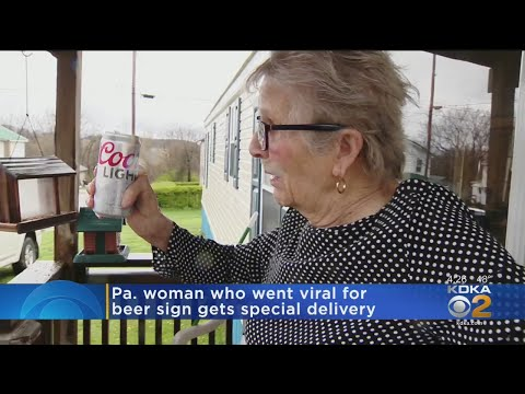 Local 93-Year-Old Woman Who Went Viral For Requesting More Beer Gets Her Wish