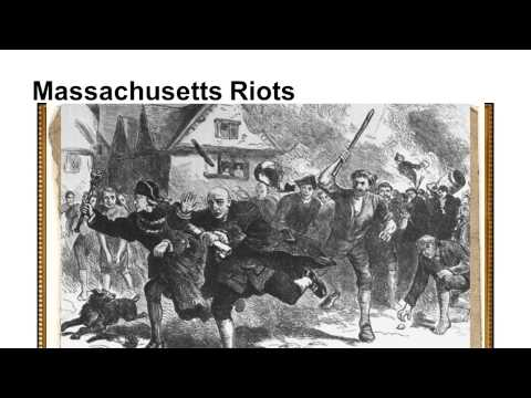 Methods of Protesting the Stamp Act