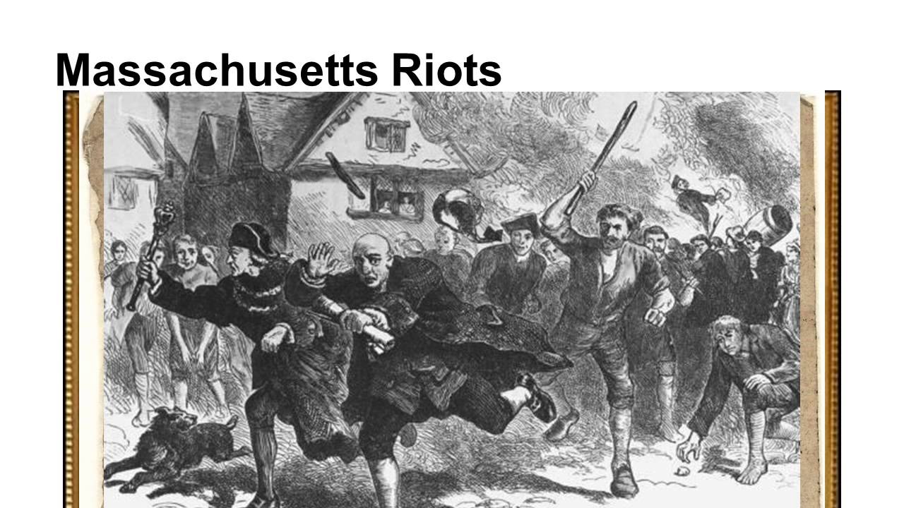 DivThis Pictures Show The Colonists Angrily Chasing Englishmen Because Of Stamp Act