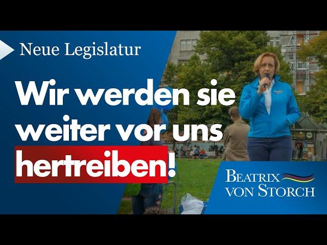 Beatrix von Storch (AfD) - Wahlkampf, neue Fraktion, neue Legislatur - auf geht's!
