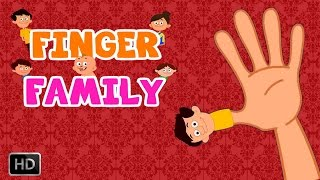 Finger Family Song - Daddy Finger Daddy Finger Where Are You Nursery Rhyme With Lyrics  For Kids