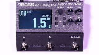 Tips for RV-500 (6): Applying a boost when the effect is on