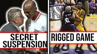 10 Greatest NBA CONSPIRACY Theories in History *Part 1*