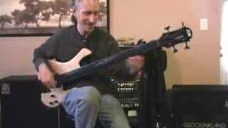 Michael Manring explains the Hyperbass
