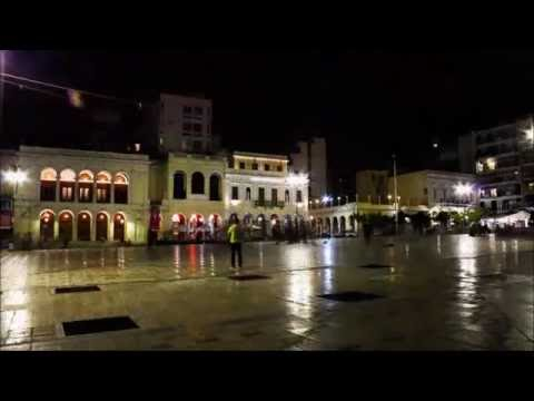 Patras, Greece - timelapse video