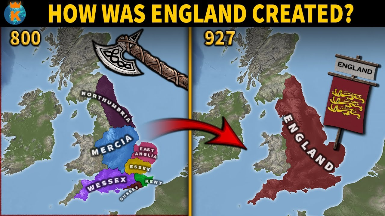 How England First Became England: An Animated History