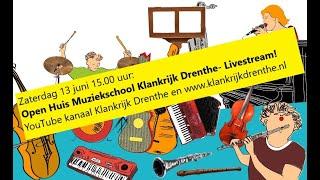 Open Huis 13 juni Klankrijk Drenthe- Livestream