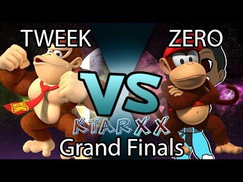 Tweek (DK) vs ZeRo (Diddy Kong) KTAR XX Grand Finals Set 2 Super Smash Bros Wii U