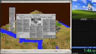 SimCity 2000 - 30k population Speedrun in 1:45.89