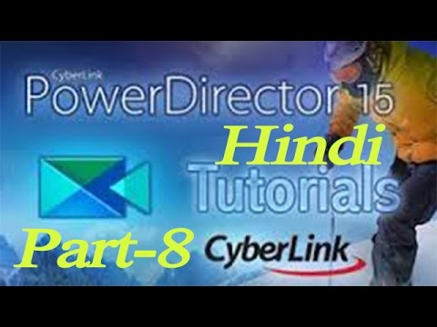 how to make a text animation in cyberlink powerdirector 15 ? Hindi Video By Future Solution