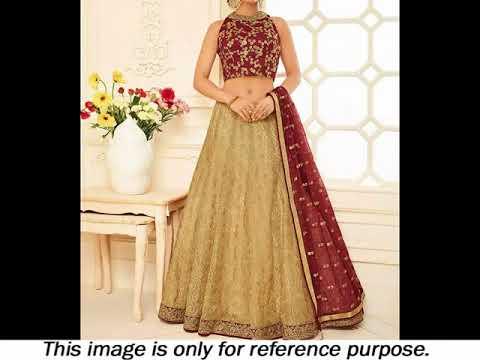 Top 10 Latest Light Weight Bridal Lehenga Choli Designs | International Fashion Channel