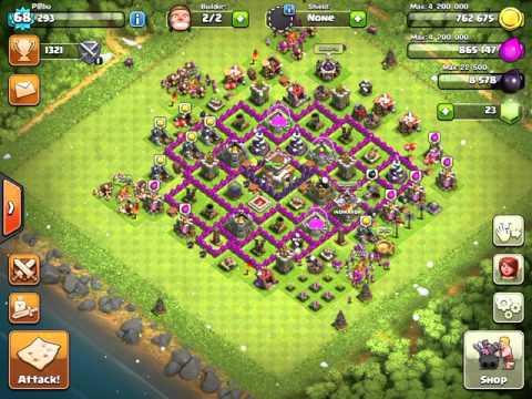 Clash OF Clans | Queen's Gambit | Attack Goblins (Tutorial)