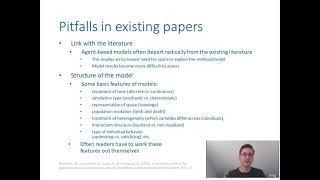 Documentation Of Agent-based Models