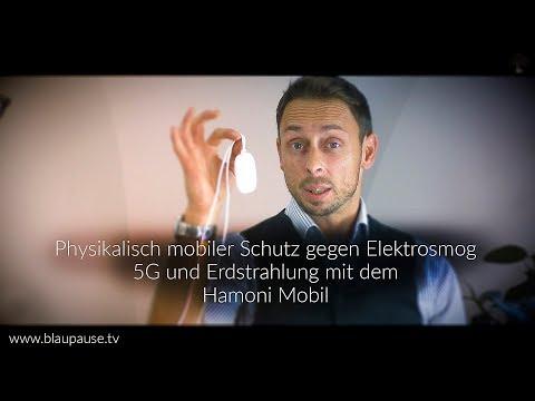 Physikalisch mobiler Schutz gegen Elektrosmog  5G  und Erdstahlung, mit dem Hamoni Mobil