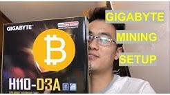 GIGABYTE H110-D3A Mining Motherboard BIOS SETUP Tutorial