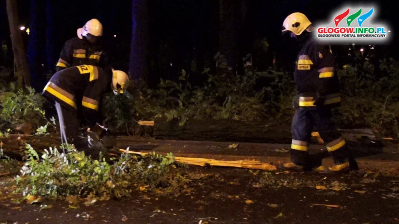 Akcja straży w Głogowie