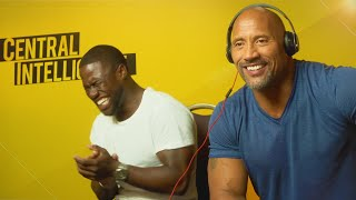 WHISPER CHALLENGE WITH KEVIN HART & THE ROCK!!! streaming