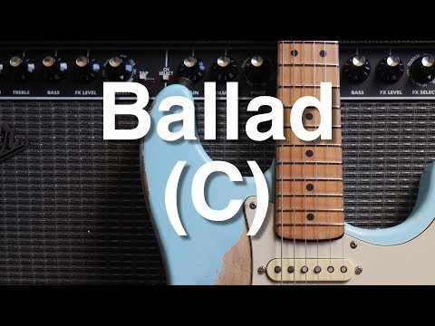 12/8 Ballad in C Backing Track