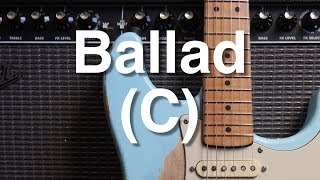 Cover images 12/8 Ballad in C Backing Track