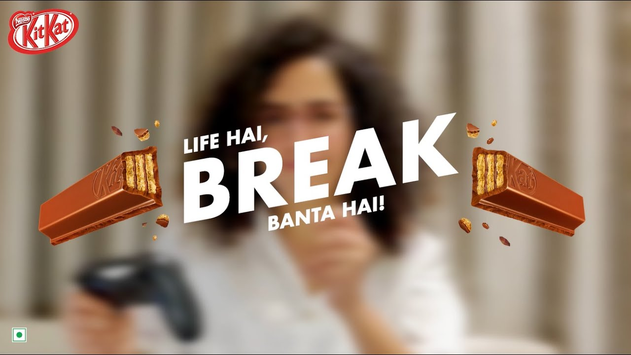 Back to back video calls? Life hai, KitKat break banta hai!