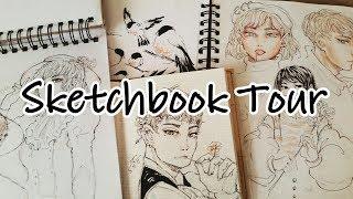❈『 Drawings / Sketchbook Tour』 (Jan - May 2017) /// Anime, Manga & Kpop