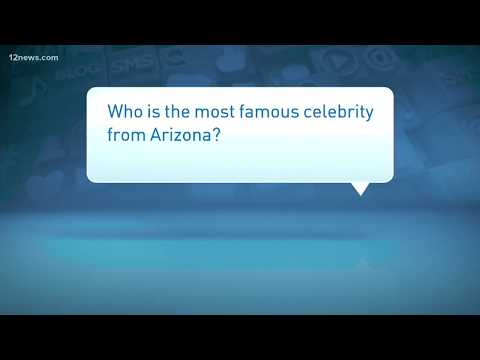 Who is the most famous celebrity from Arizona?