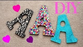 Diy Wooden Decorative Letters For Your Wall