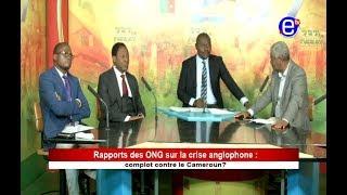 237 LE DEBAT - Rapport des ONG sur la crise anglophone: Complot contre le Cameroun? Equinoxe tv