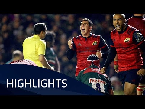 Leicester Tigers v Munster Rugby (P4) - Highlights – 17.12.2017