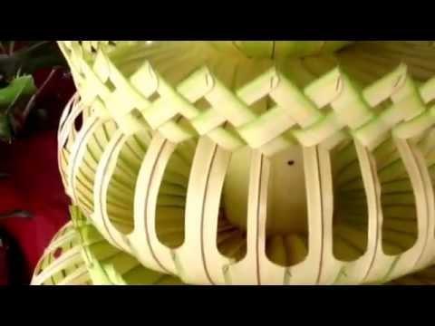 Cara membuat Janur Payung Agung  satya dekorasi  YouTube