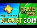 PlayStation Plus VS Xbox Games With Gold - AUGUST 2018