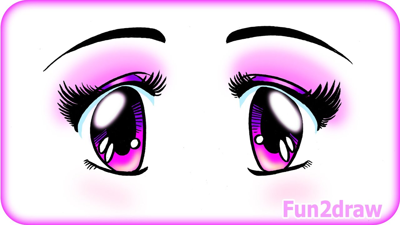 It's just a picture of Astounding Cute Anime Eyes Drawing