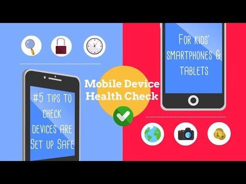Health check for kids smartphones & tablets | Internet Matters