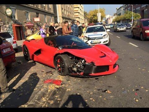 Super Car Crash Compilation Idiots On A Road And Insane Exotic