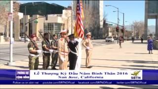 PHÓNG SỰ CỘNG ĐỒNG: Lễ thượng kỳ đầu năm Bính Thân tại San Jose