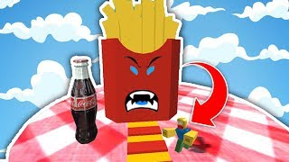 ESCAPE FROM the MAC DONALDS! (Roblox Obby)