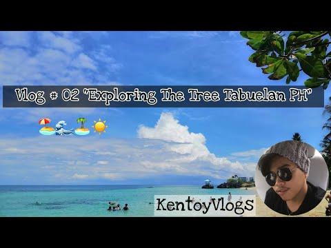 Vlog 02 The Tree Sunset Beach Resort Gala Tabuelan Cebu